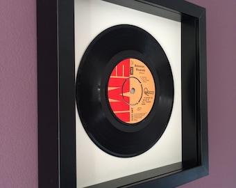 "Queen ""Bohemian Rhapsody"" -Framed Original Vinyl Gift"
