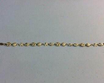 10kt. 3.5dwt. charm bracelet