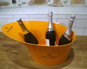 Veuve Clicquot//Veuve Clicquot Champagne Bucket//Veuve Clicquot Champagne Ice Bath// Champagne Bucket//Champagne Bath//Large Veuve Clicquot