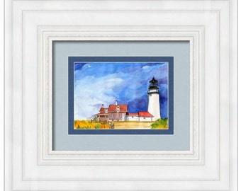 Truro Lighthouse Cape Cod Wall Art Canvas Wall Decor Art Home Decor Home & Living interior design art wall hangings