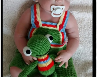 Frog Baby Set,Frog Costume,Frog Photo Prop,Newborn Photo prop,Baby Shower Gift,Baby Halloween costume,infant toy,crochet toys,Gift