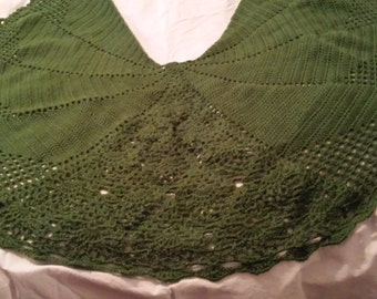 Pineapple shawl ( extended design)