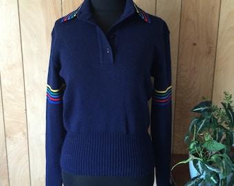 Vintage 1980's Meister Ski Sweater Women's S/M