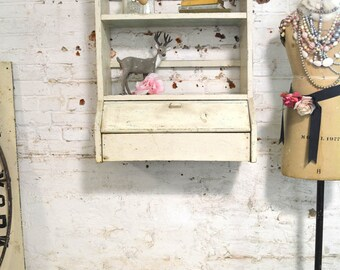 Painted Cottage Prairie Chic Chippy Farmhouse Shelf PR158
