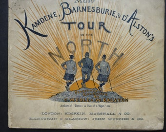 Kamdene, Barnesburie & D'Alston's Tour of the North Book