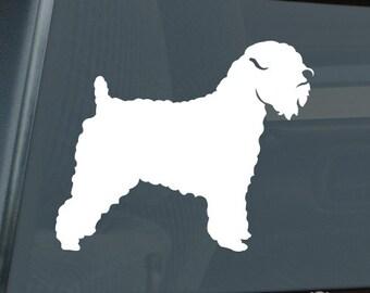 Wheaten Terrier Die Cut Vinyl Sticker - 1005