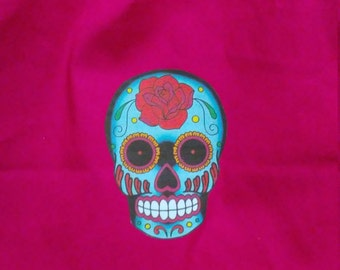 13.5 x 13.5 Tote Bag - Sugar Skull
