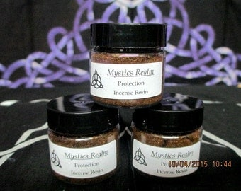 Protection Incense Resin - Protection Resin - Protection Incense - Witch's Protection Powder - Witchcraft Supply - Altar Resin - Witchcraft