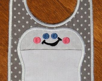 Tooth Fairy Door Hanger with pocket