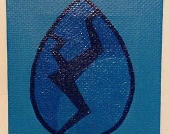 Steven Universe Lapis Lazuli Gem Mini Canvas