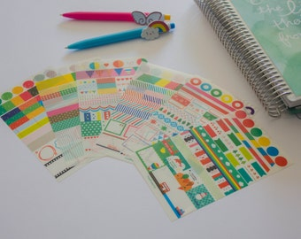 6 stickers sheets