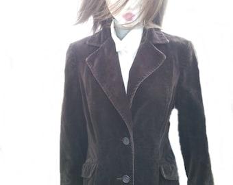 Ladies Velvet jacket , late 1970's