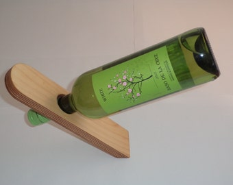 Birch Plywood Wine Holder