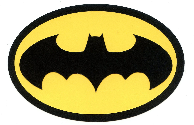 Batman symbol logo scrapbook die cut buycottarizona