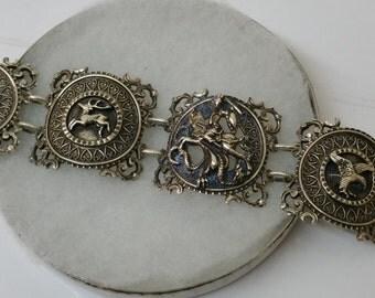 Bracelet costume Saint George Silver 925 BAS SA200