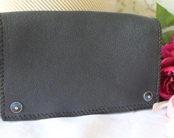 Vintage, 1930's Leather Clutch/Handbag