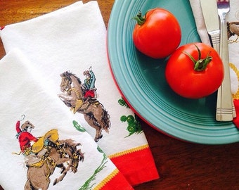 Cowboy Cloth Napkin Set