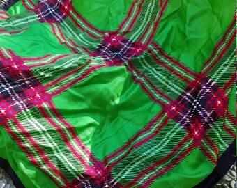 Echo Brand Holiday Silk Scarf
