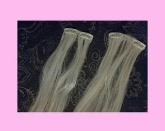Bleach Blonde Extensions