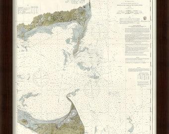 0401-Monomoy Harbor and Nantucket Shoals Nautical Chart 1874