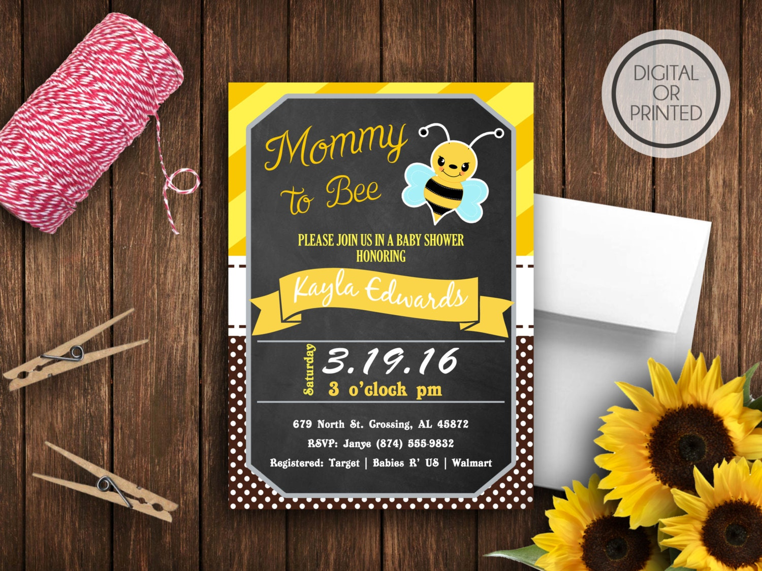 bee baby shower invitation bumble bee baby by greatowlcreations