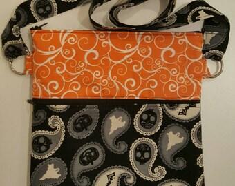 Happy Halloween! Handmade crossbody purse.
