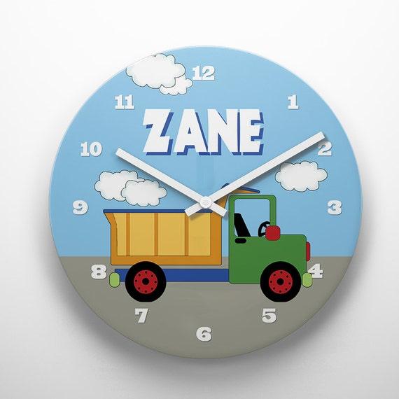 Custom Personalized Kids Wall Clock Room Decor Great Childrens