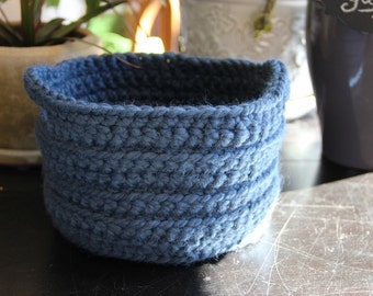 Fall Blue Basket