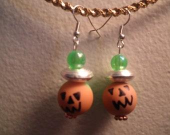 Earrings 129 Grinning Jack