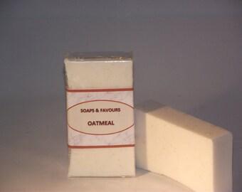 Handmade Oatmeal  Soap Slice - with Shea Butter
