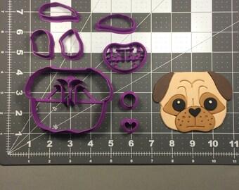 Pug Face 100 Cookie Cutter Set