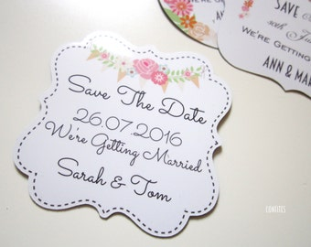 Save The Date Magnets -  Pack of 10