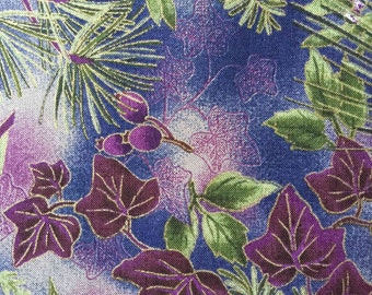 FF66 Hoffman (5 HALF yards available) Floral Fabric