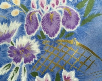 FF110 Floral Fabric (3 HALF yards available)