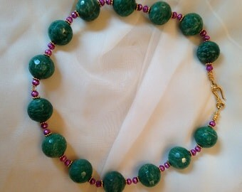 Alex and Lee Amazonite Necklace