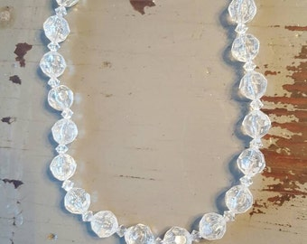 Micky- Clear Shatter Necklace