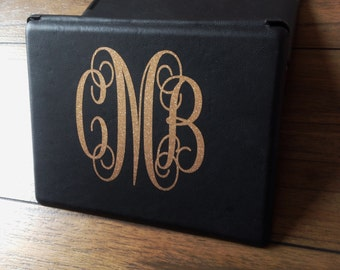 iPad Monogram Decal iPad Personalized Decal iPad Cover Monogram Decals Do It Yourself Monogram