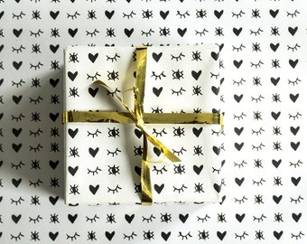 Love Wrapping Paper, Love Gift Wrap, Recyclable Wrapping Paper, Recyclable Gift Wrap, Wrapping Paper, Gift Wrap