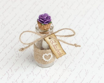 Will you be My Bridesmaid, Message in a Bottle, Bridesmaid Proposal, Asking Bridesmaid, Maid of Honor Proposal, Flower Girl Invitation