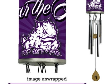 TCU, Texas Christian University Wind Chime