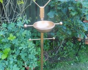 Wrought Iron (Forged Steel) Bird Feedeing Station / Feeder