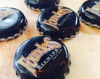 Founders Recycled Bottle Cap Magnets
