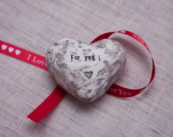Heart with names of lovers and date valuable to you