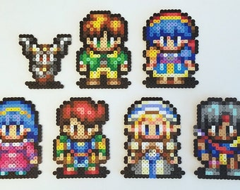 Lunar: Heroes of the Silver Star Magnet Set