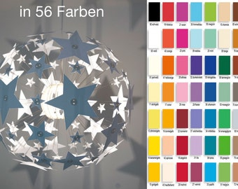 Star in the colour of choice for your IKEA Maskros 55 cm