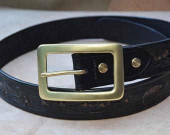 Leather Craft Hand Made Belt