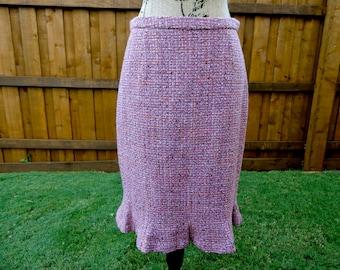 Vintage Harolds Skirt / Harolds Dress / Fall Skirt / Vintage Pencil Skirt / Wiggle Skirt