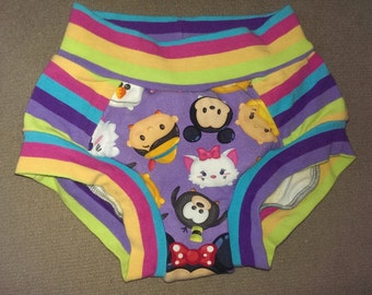 Custom Children's Training Underwear/Panties with absorbent liner - scrundies/scrundlewear