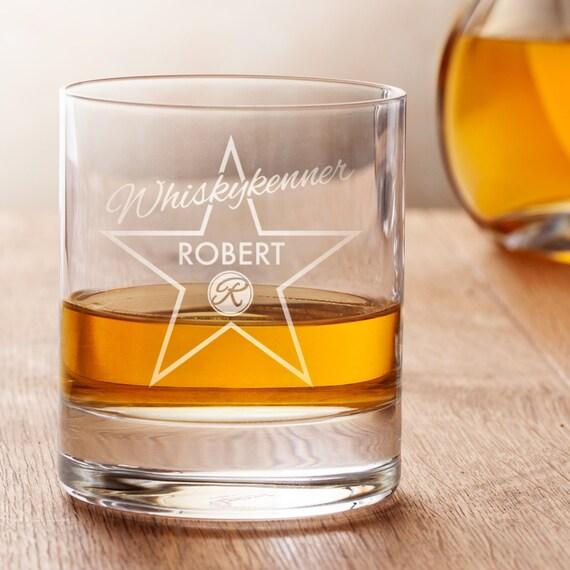 personalisiertes whiskyglas mit gravur star of fame. Black Bedroom Furniture Sets. Home Design Ideas