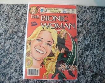 The Bionic Woman Issue #1